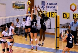 VOLLEY BALL : CEP POITIERS SAINT-BENOIT vs ASSOCIATION SPORTIVE ILLACAISE VOLLEY-BALL