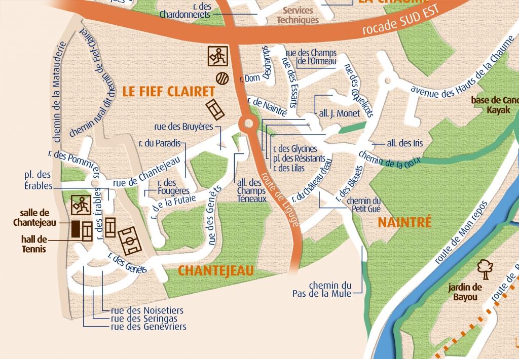 Naintre Plan Ville