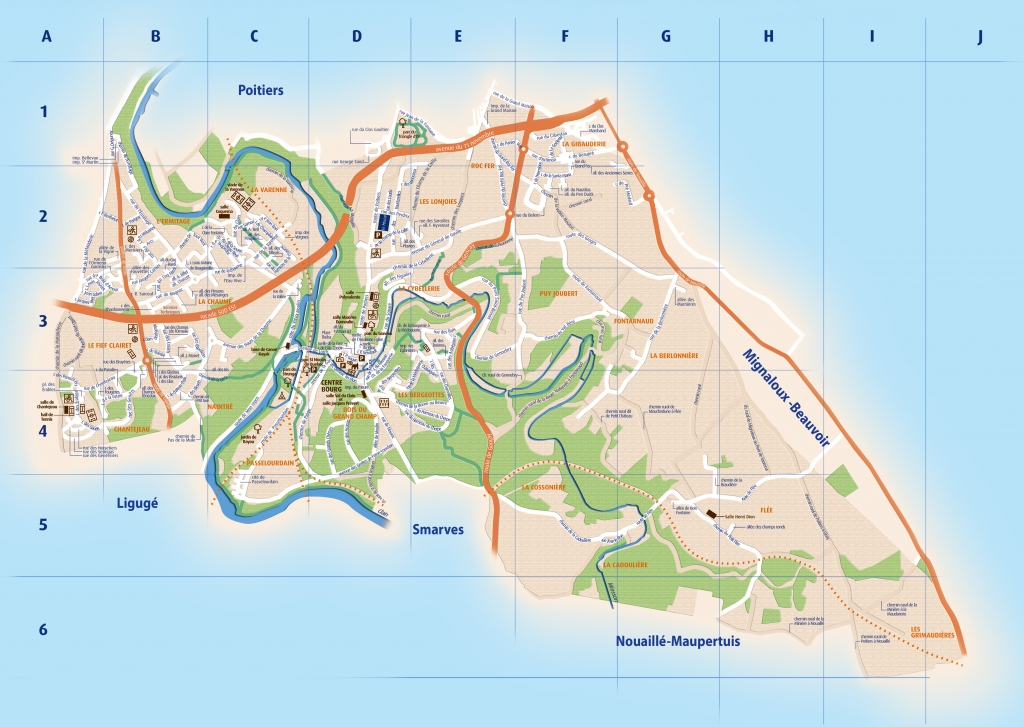 plans q Saint-Benoît