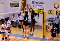 VOLLEY BALL : CEP POITIERS SAINT-BENOIT vs  EVREUX